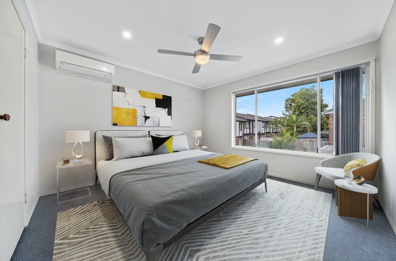 Renovated townhouse Bedroom